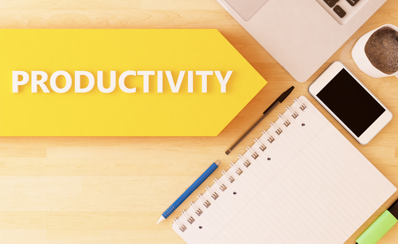 Productivity is the word