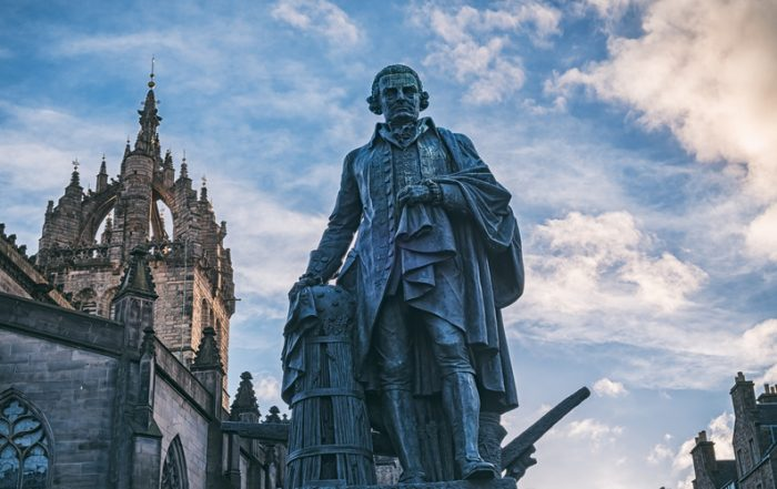 Academics from around the world, including the Eccles School's Jay Barney, met to reshape capitalism at the Edinburgh home of its founder.