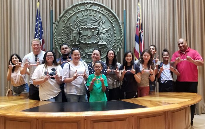 Opportunity Scholars from the David Eccles School of Business traveled to Hawaii to experience the all the Aloha State has to offer.