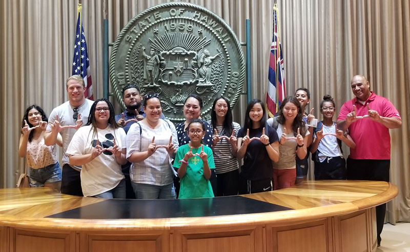 Opportunity Scholars travel to the Aloha State