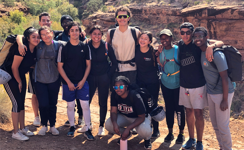 First Ascent Scholars travel to Moab for a 3-day outdoor adventure