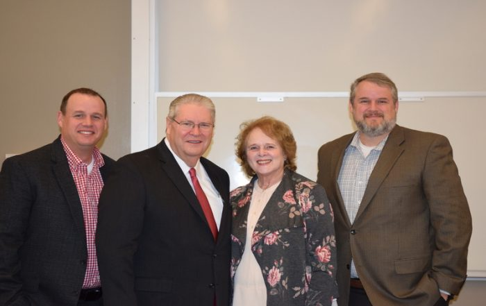 The Pugh family shared their advice for success, both in business and family life, at Family Business Roundtable.