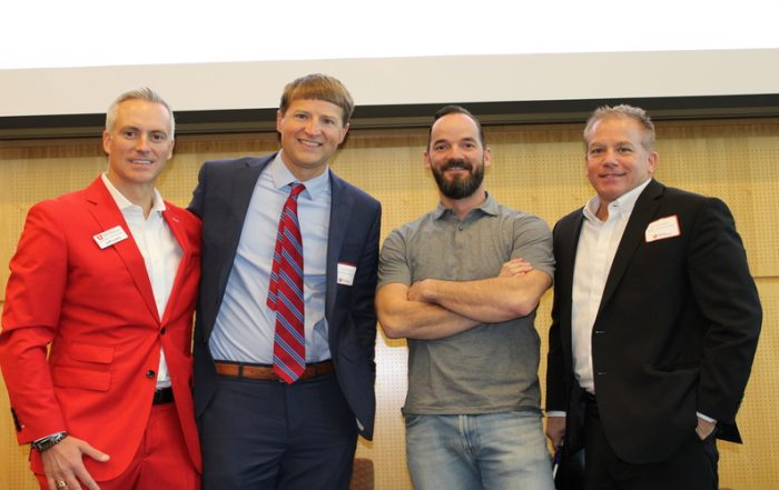 Three Eccles School alumni discussed the current climate and challenges facing companies that are trying to expand and grow.