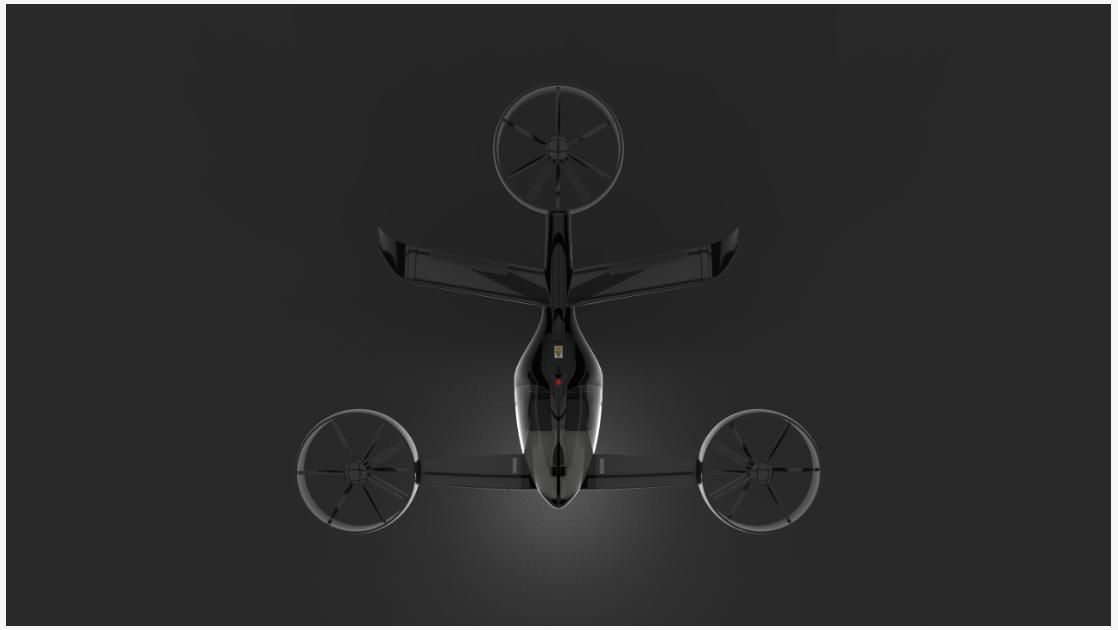 Transporte aéreo inovador
