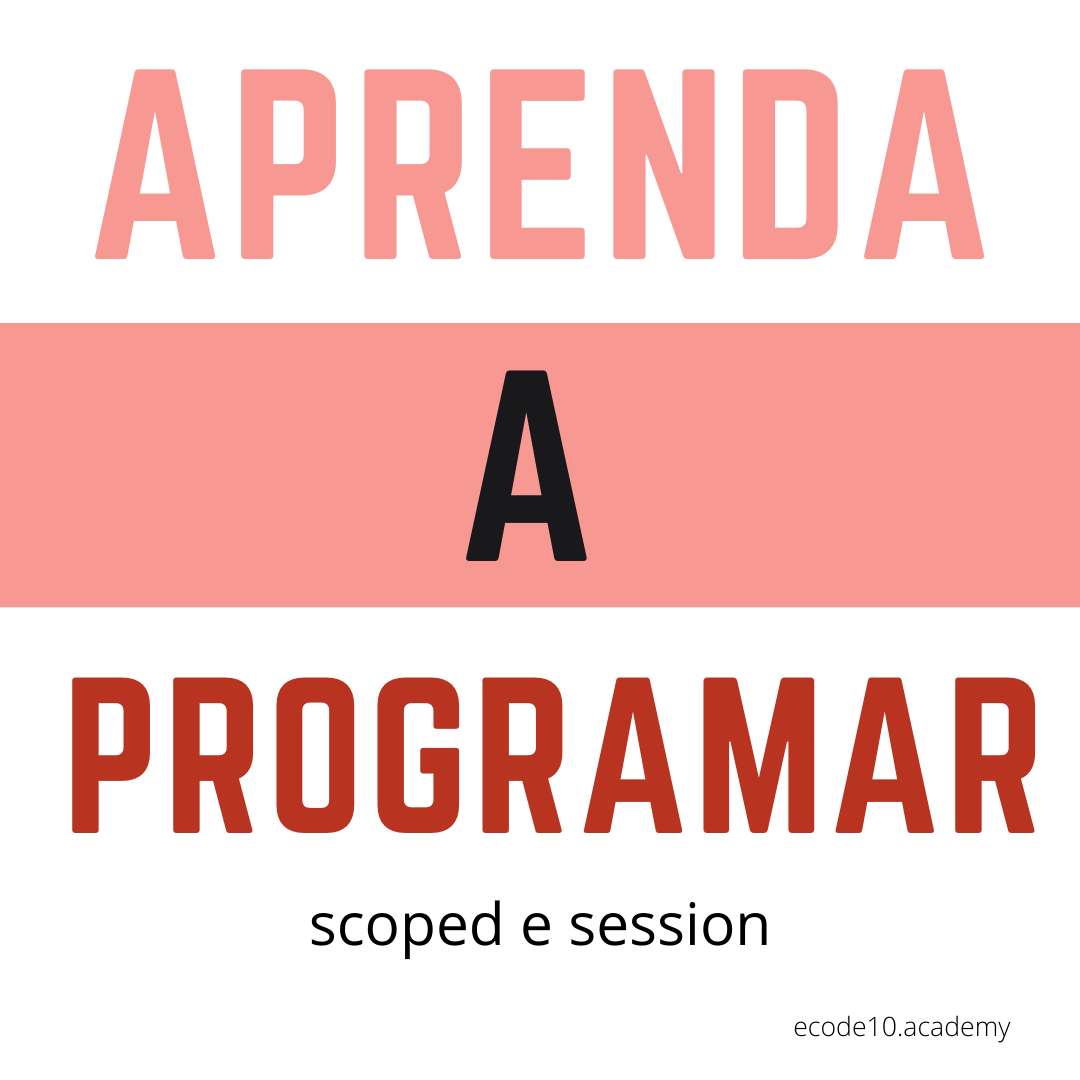 Aprenda a programar scoped e session