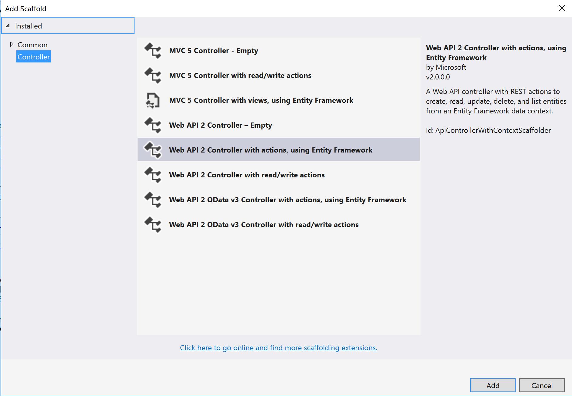 Web API - Retornando vários dados de tabelas diferentes