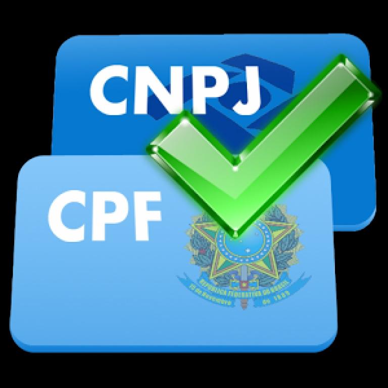 Usando o pacote CPF CNPJ