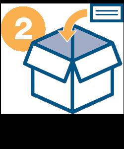 RMA - Step 2: pack return box