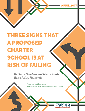 three signs that a proposed charter school is at risk of failing