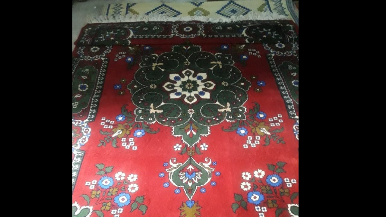 One of my mother's handmade carpets