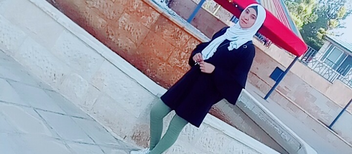 First day in the university , I am so excited and happy because of becoming realize   Of my dream 💚🌸💊💉