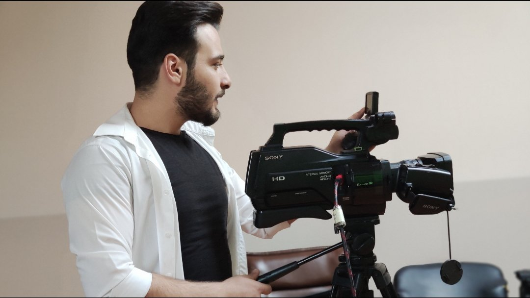 During the photography training