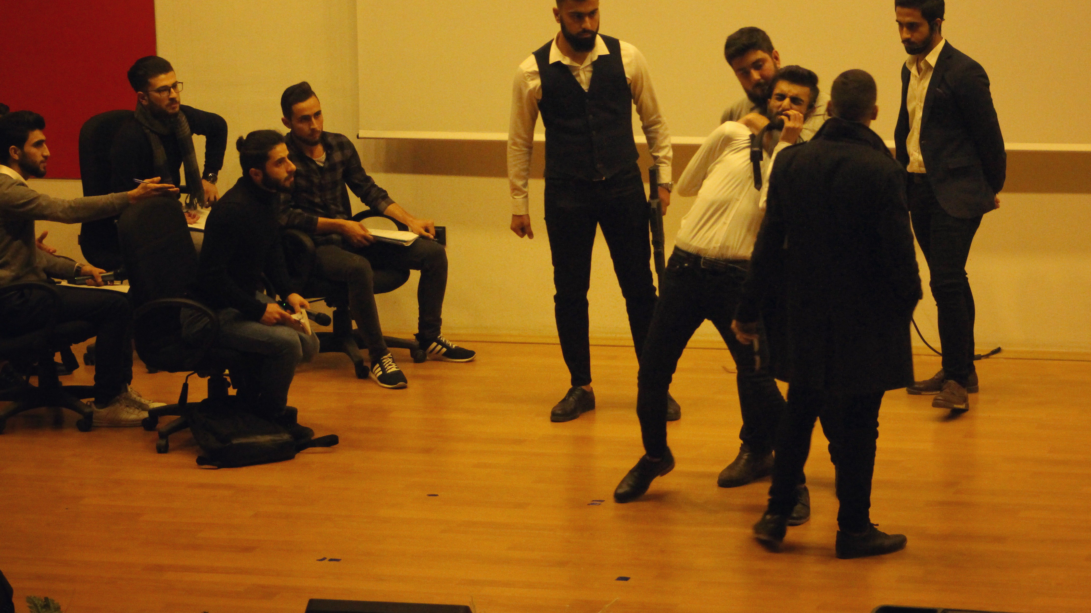 The Syrian Day at Konya Technical University. Students recalling Syrian national heritage