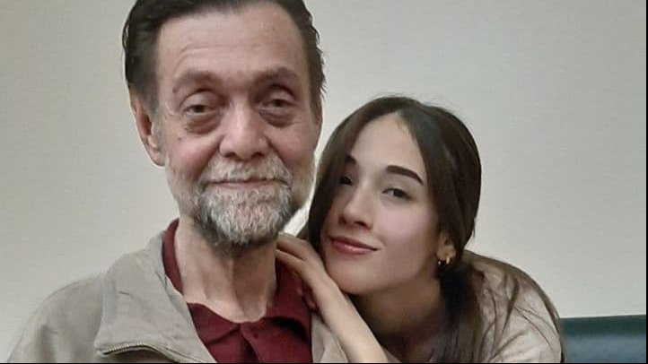Me alongside my father