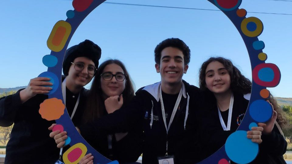 Me and fellow team members at Guardians of Nature <one is missing> at Generation Unlimited Youth Challenge