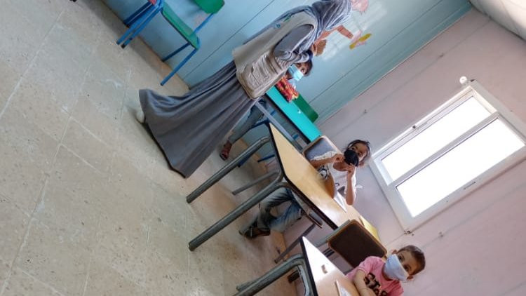 During my volunteer work with education teachers