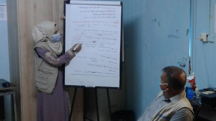 In one of the training courses for computer