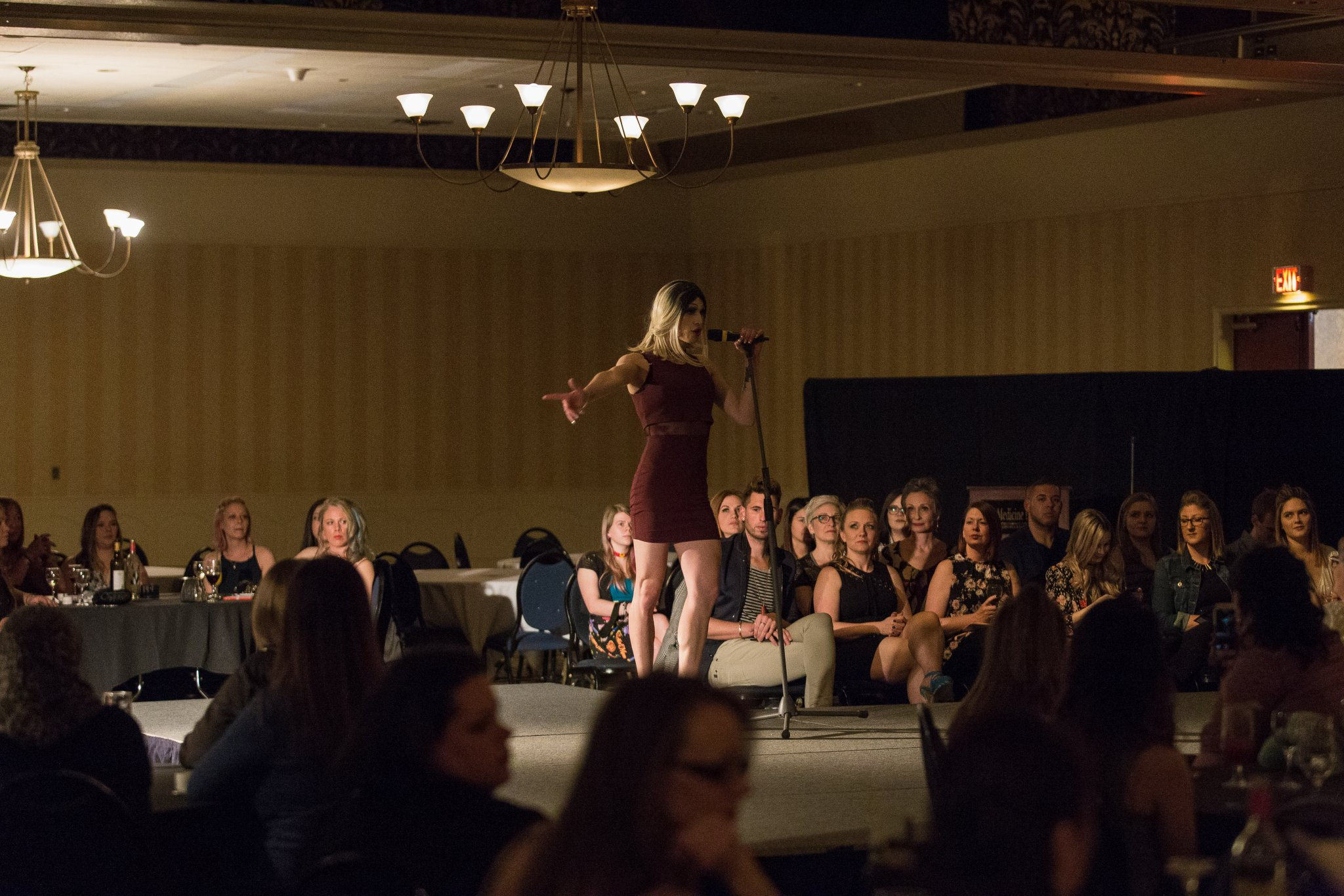 Medicine Hat Pride Fashion Show Fundraiser | Elegant Exposures Photography