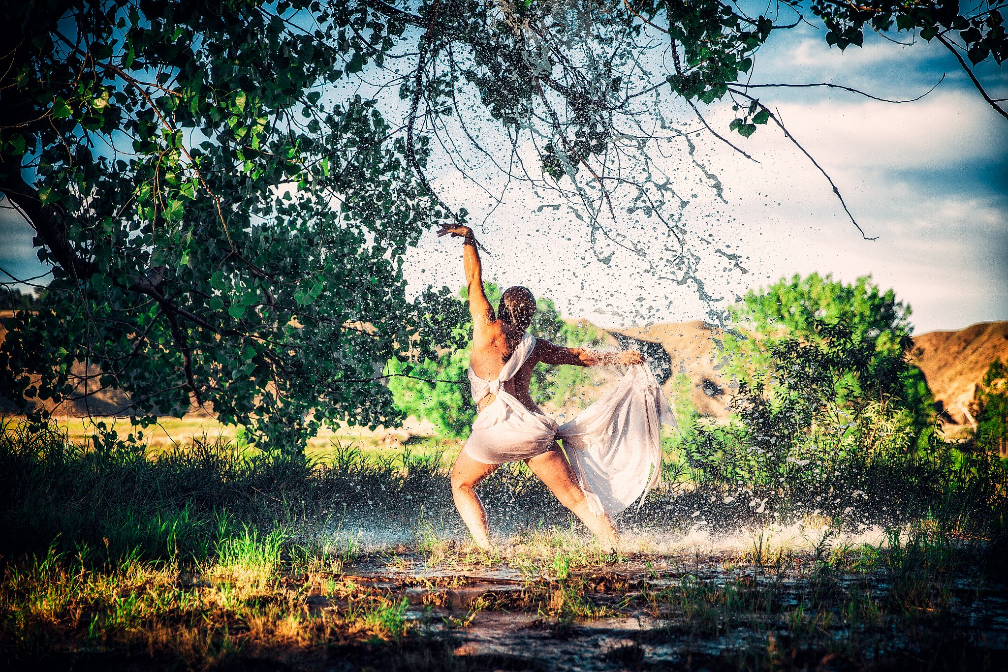 Sunshine Rain | Elegant Exposures Photography