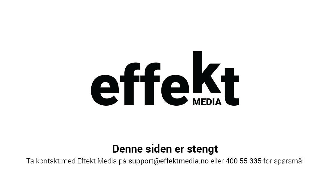 Effekt Media Stengt side