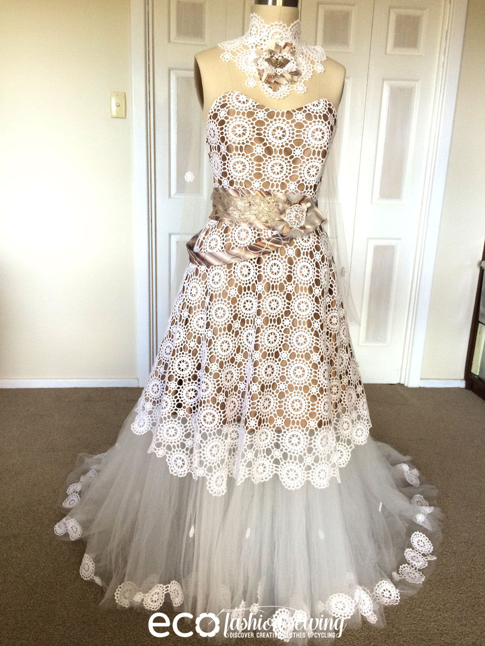 Material Wedding Dress Some Time