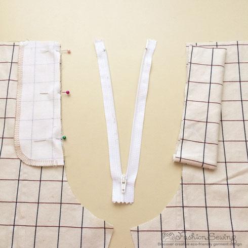 Repurposing-mens-shirts-into-womens-pants---Construction-1