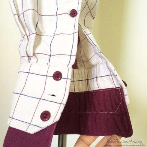 Repurposing-mens-shirts-into-womens-pants---details-3