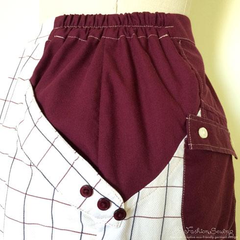 Repurposing-mens-shirts-into-womens-pants---details-4