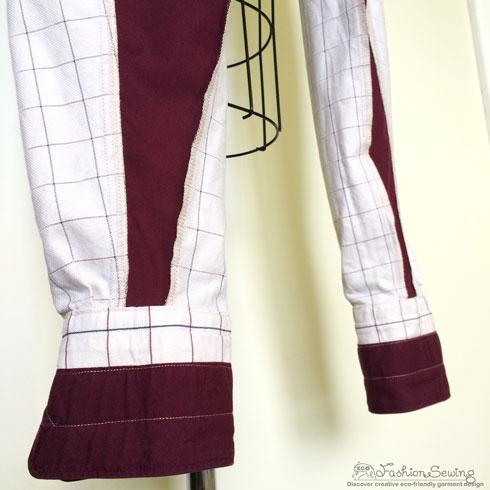 Repurposing-mens-shirts-into-womens-pants---seams-2