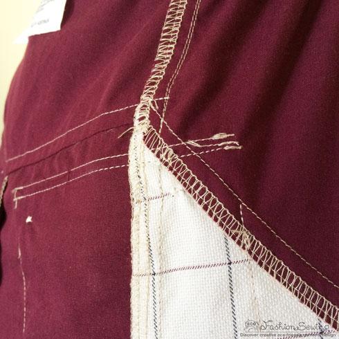 Repurposing-mens-shirts-into-womens-pants---seams-3
