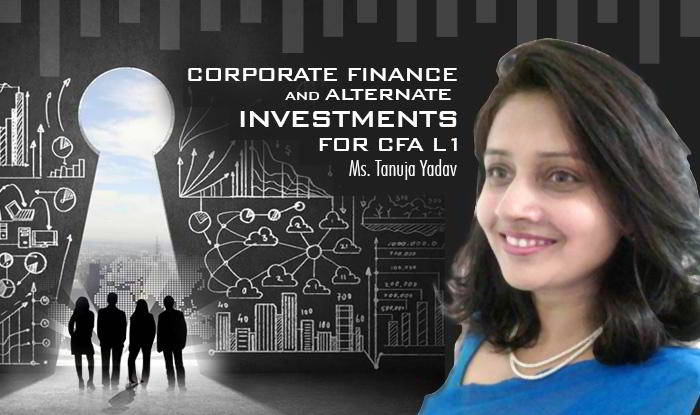 Corporate Finance and Alternate Investments for CFA L1