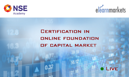 Certification in Online Foundation of Capital Market