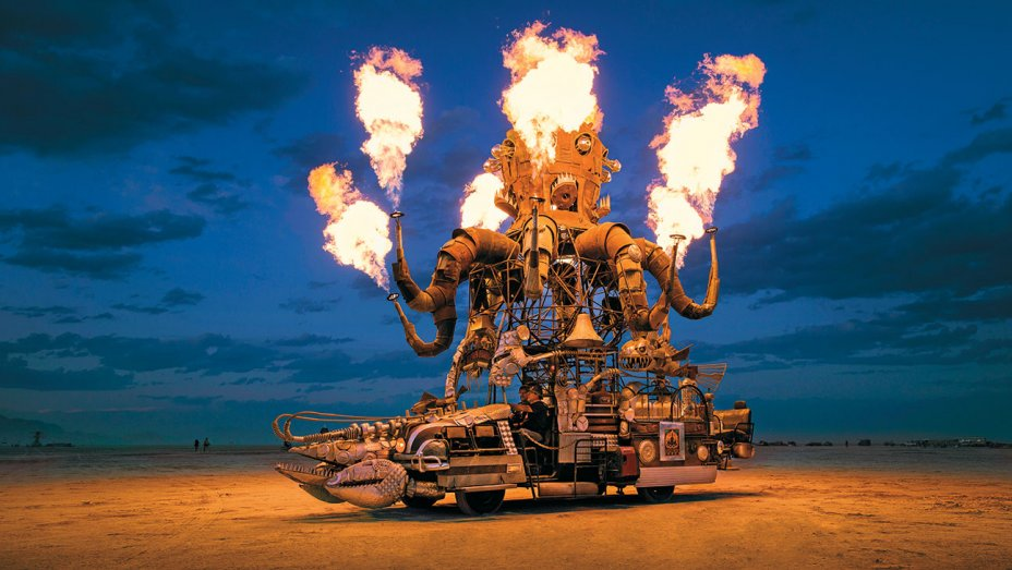 Burning Man: Camps, Mutant Vehicles, Music, & Madness