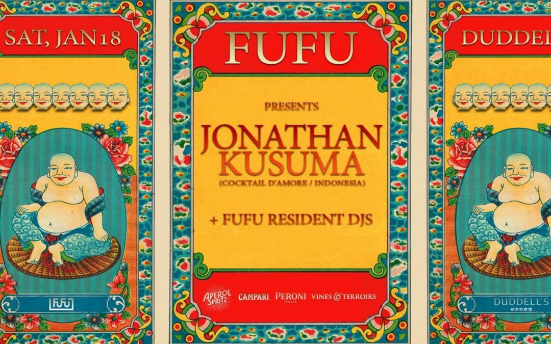 FuFu Creative Presents Jonathan Kusuma At Duddel's (HK)