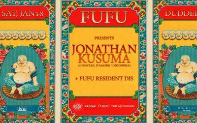FuFu Creative Presents Jonathan Kusuma At Duddel's (HK)
