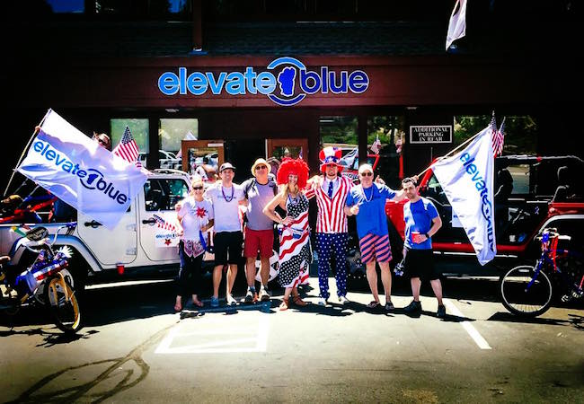 Elevate Blue 4th of July