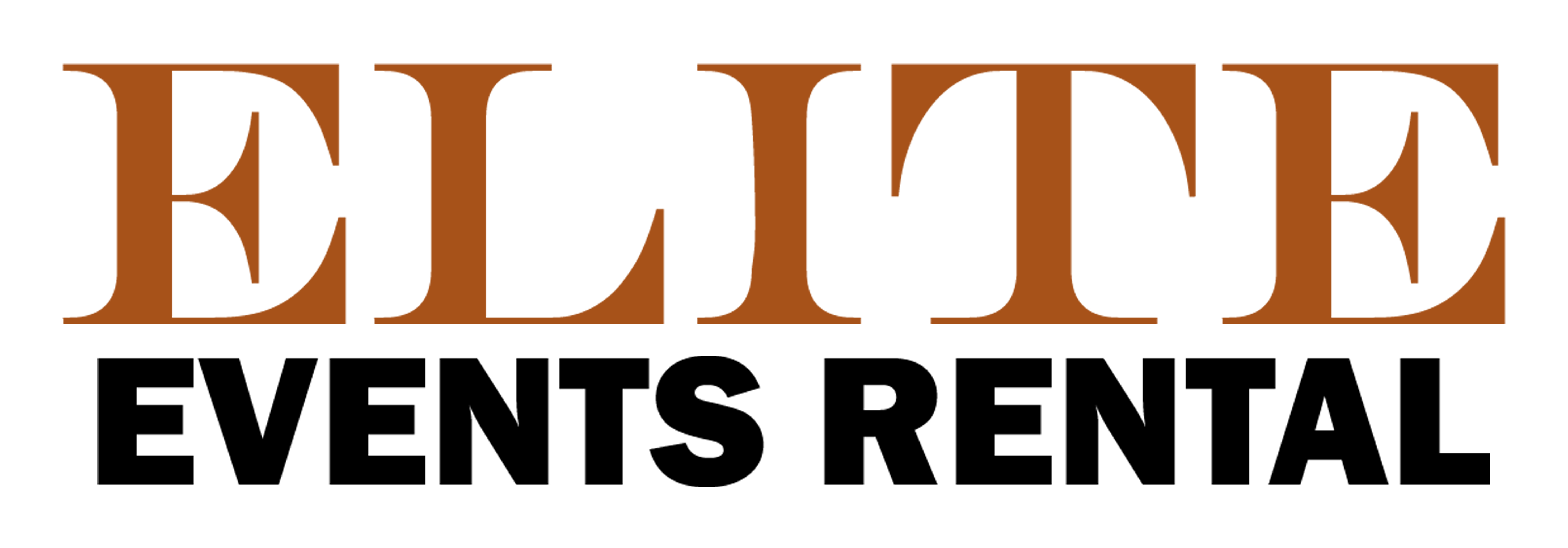 Elite Events Rental logo