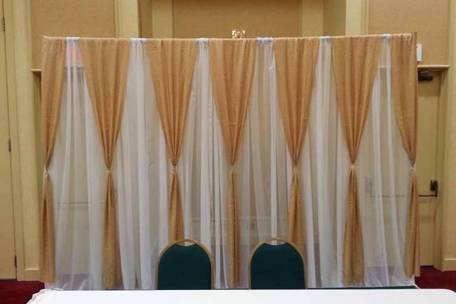 DIY Fabric Backdrop Rental | Elite Events Rental