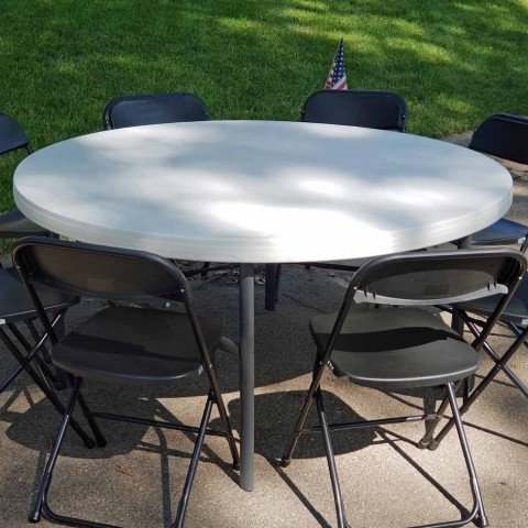 30 inch Round Table | Elite Events Rental