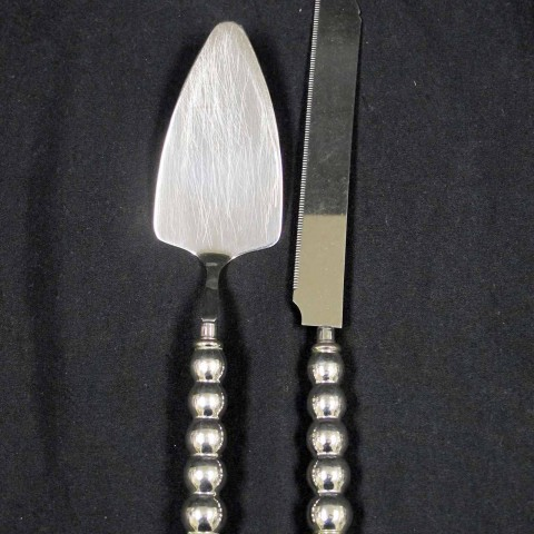 Cake Knife and Server Ball Handle