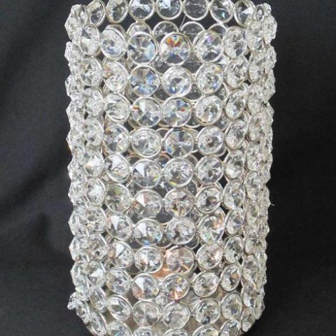 Crystal Beaded Cylinder