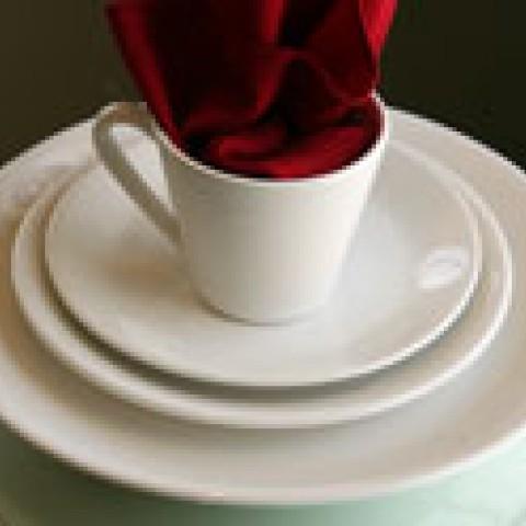 Plate Basic White