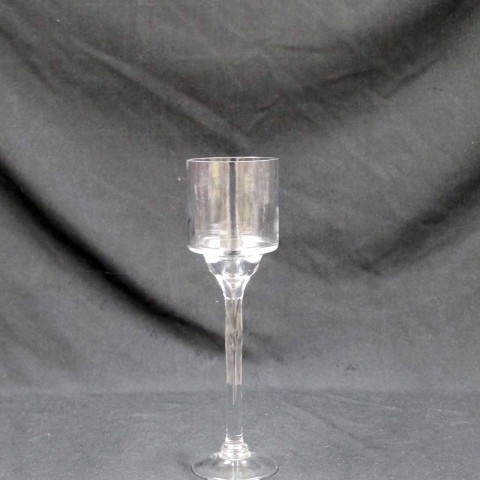 Stemmed candle holder 14 inch