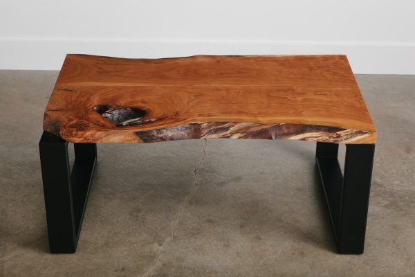 cherry-slab-coffee-table