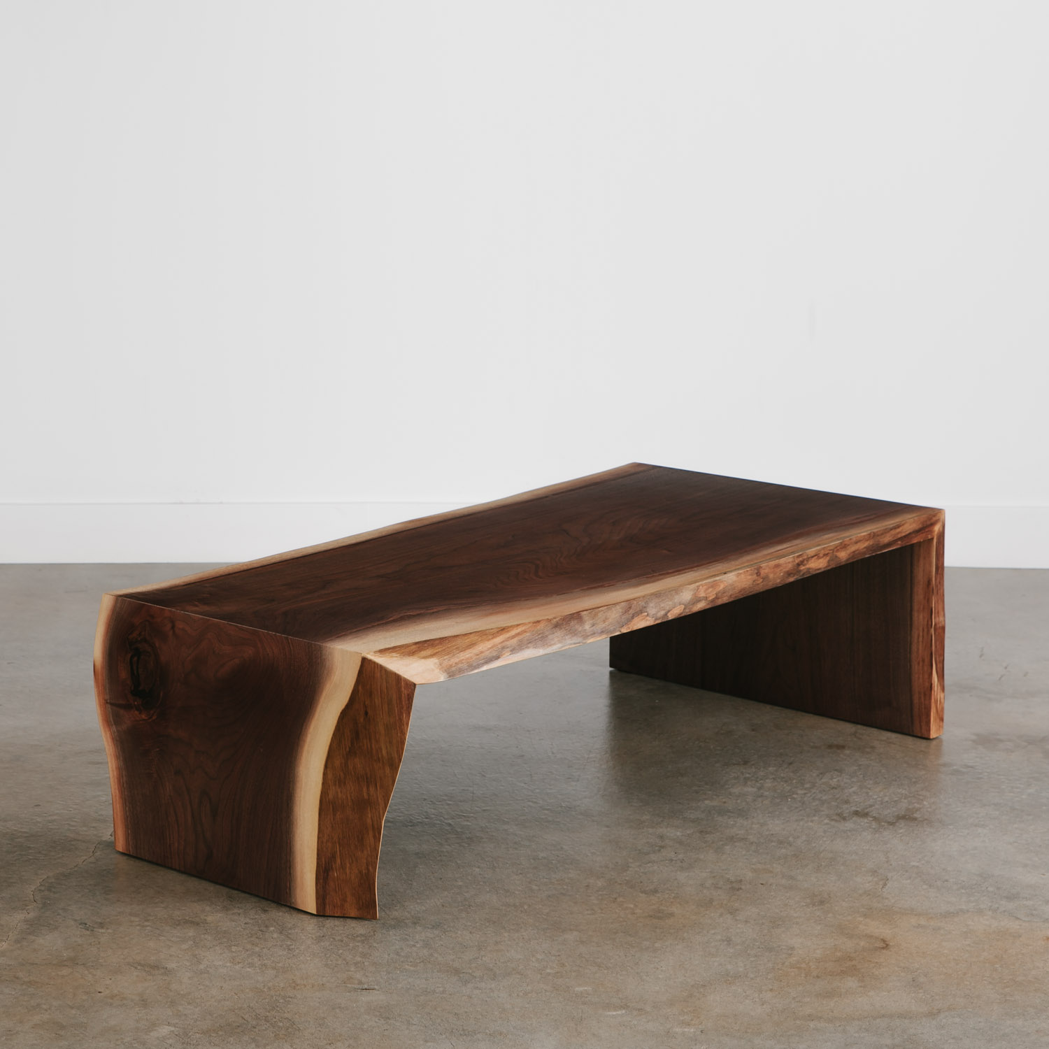 Walnut Coffee Table   Elko Hardwoods | Modern Live Edge Furniture   Dining  U0026 Coffee Tables, Desks, Benches