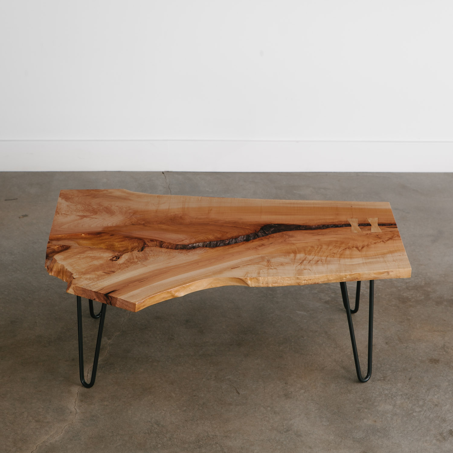 Luxury handmade live edge coffee table