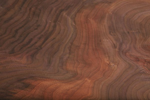 Trendy natural figured walnut wood grain