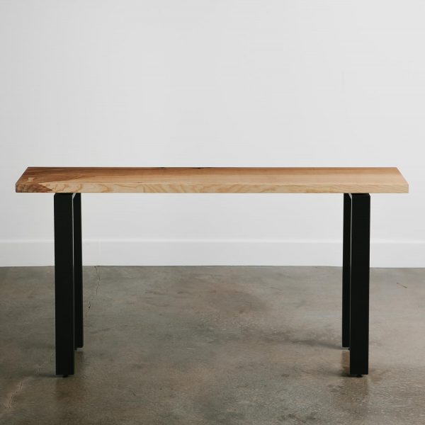 Trendy live edge console table