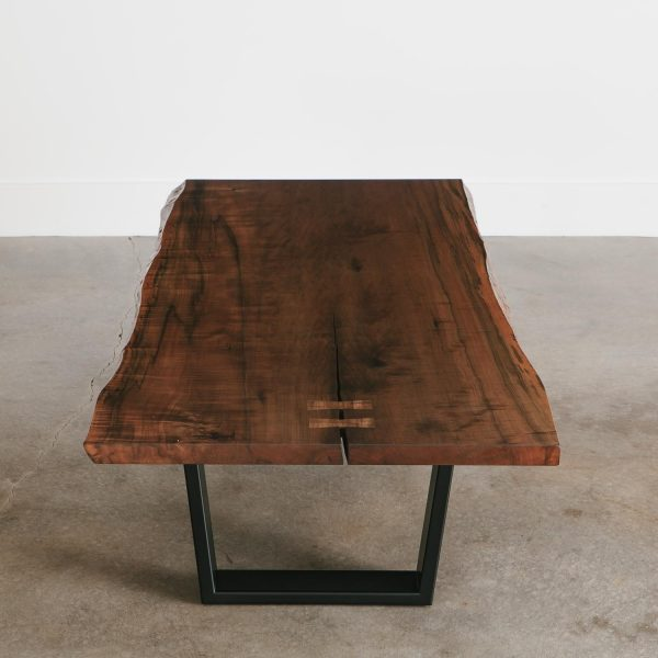 Modern live edge coffee table contemporary