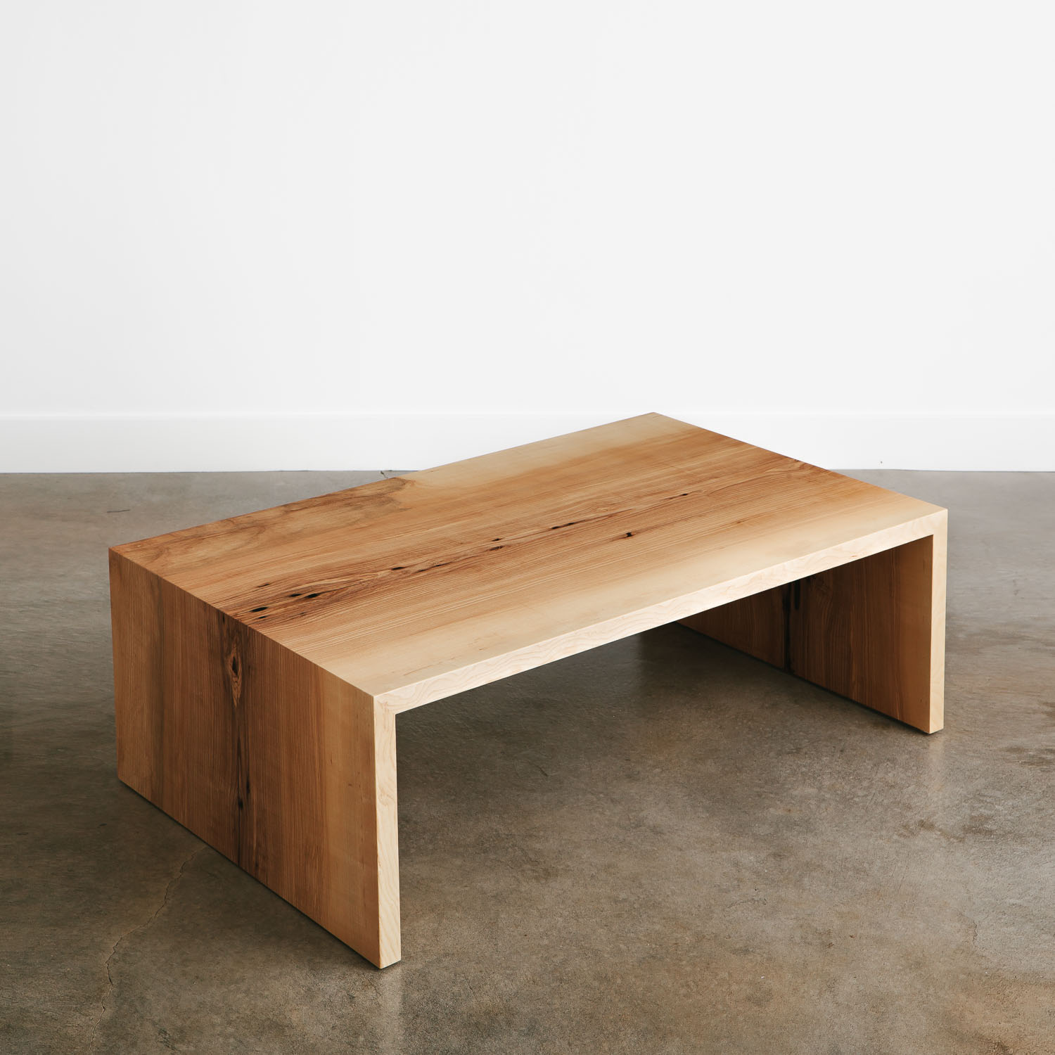 Marvelous Ash Coffee Table Elko Hardwoods Modern Live Edge Gmtry Best Dining Table And Chair Ideas Images Gmtryco